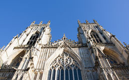 Looking up at York Minster Royalty Free Stock Image