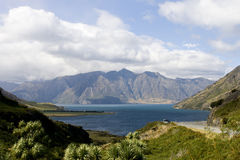 Looking at view near Queenstown Royalty Free Stock Photography