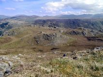 Looking Watendlath Fell way, Lake District Royalty Free Stock Photography