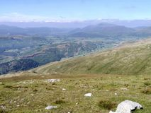 Looking from Watson`s Dodd, Lake District Stock Photo