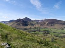 Looking west from Catbells, Lake District