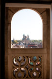 Looking through the window Royalty Free Stock Photography