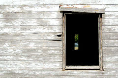Looking through the window. Of an old farm house Royalty Free Stock Image