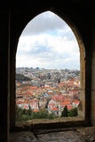 Looking through window at Lisbon Royalty Free Stock Photo