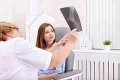 Looking X-ray Royalty Free Stock Image