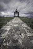 Lookout Lighthouse ribadeo. In north of spain Stock Images