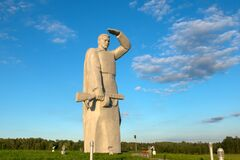 Lookout! Memorial to Panfilov Heroes