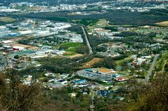 Lookout Mountain Overlook Royalty Free Stock Photos