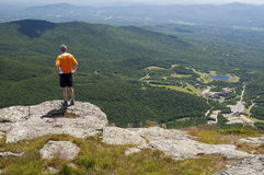 Lookout From Mt. Mansfield Stock Image