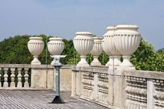 Lookout pavilion Glorietta. Schonbrunn. Vienna, Austria Stock Photography