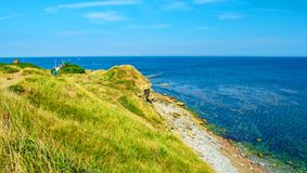 The Lookout at Peverill Point royalty free stock images