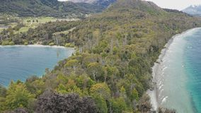 The Bob�s Cove, Queenstown, South Island, New Zealand. The lookout point at Bob�s Cove, Queenstown, South Island, New Zealand stock video