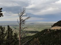 Lookout Point. On Casper Mountain stock image