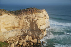 Lookout point at the Twelve Apostles, Australia. Lookout point at the Twelve Apostles along the Great Ocean Road, Victoria, Australia Stock Images