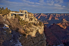 Lookout Studio at Grand Canyon Stock Images