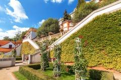 Lookout terrace of Ledeburg Garden Stock Images