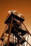 Lookout Tower. An old gold mine converted into a lookout Stock Photography