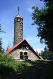 Lookout tower. Zlaty Chlum it is lookout tower in czech republic Royalty Free Stock Image