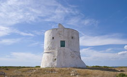 Lookout tower along the italian coast Royalty Free Stock Image