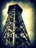 Lookout tower. Bohdanka Lookout tower near Bohdaneč village in the Czech Republic royalty free stock image
