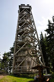 Lookout tower Boubin Stock Photo