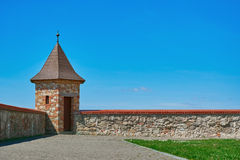 Lookout Tower of Castle Stock Images