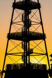 Lookout tower Cizovka Royalty Free Stock Photos