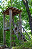 Lookout tower. Lookout tower in the estate of Leo Tolstoy in Yasnaya Polyana Royalty Free Stock Image