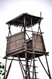 Lookout tower for hunting Royalty Free Stock Photography