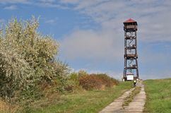 Lookout tower Majak, Czech republic Stock Photo
