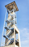 Lookout tower Stock Image