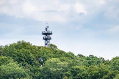 Lookout tower near Freiburg. An image of a lookout tower near Freiburg royalty free stock images