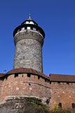 Lookout tower in Nuremburg Royalty Free Stock Images