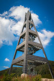 Lookout Tower Over Terchova, Low Fatra, Slovakia Royalty Free Stock Photo