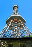Lookout Tower on Petrin Hill, Prague Stock Image