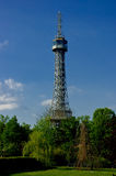 Lookout Tower on Petrin Hill. Stock Images