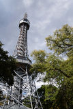 Lookout Tower in Prague Stock Photography