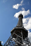 Lookout Tower in Prague Stock Photo