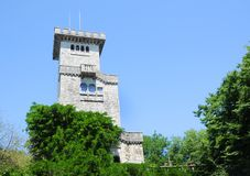 Lookout tower in the Roman style Stock Images