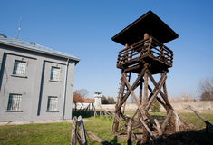 Lookout tower of  Second World War Royalty Free Stock Image