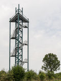 Lookout tower in Steenwijk Stock Image