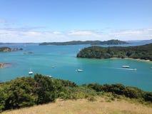 Lookout from Urupukapuka Island Royalty Free Stock Photography