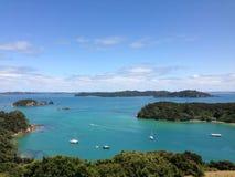 Lookout from Urupukapuka Island Stock Images