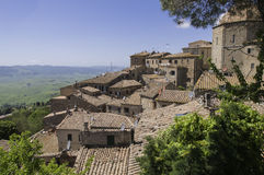 Lookout in Volterra Stock Photos