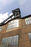 Lookt op de Vitkovice-mijnbouwtoren van zijn basis Stock Fotografie