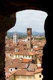 Lookthrough Lucca 库存照片