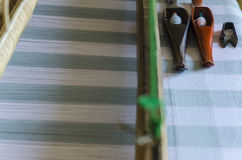 Texture of Loom Stock Photography