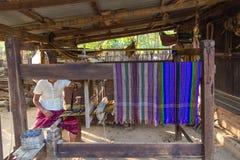 Loom ,  Bagan in Myanmar (Burmar) Stock Image