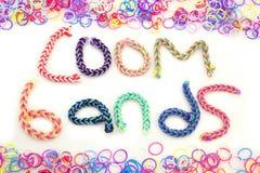 Loom band Bracelets Royalty Free Stock Photo