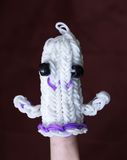Loom band ghost Stock Photo